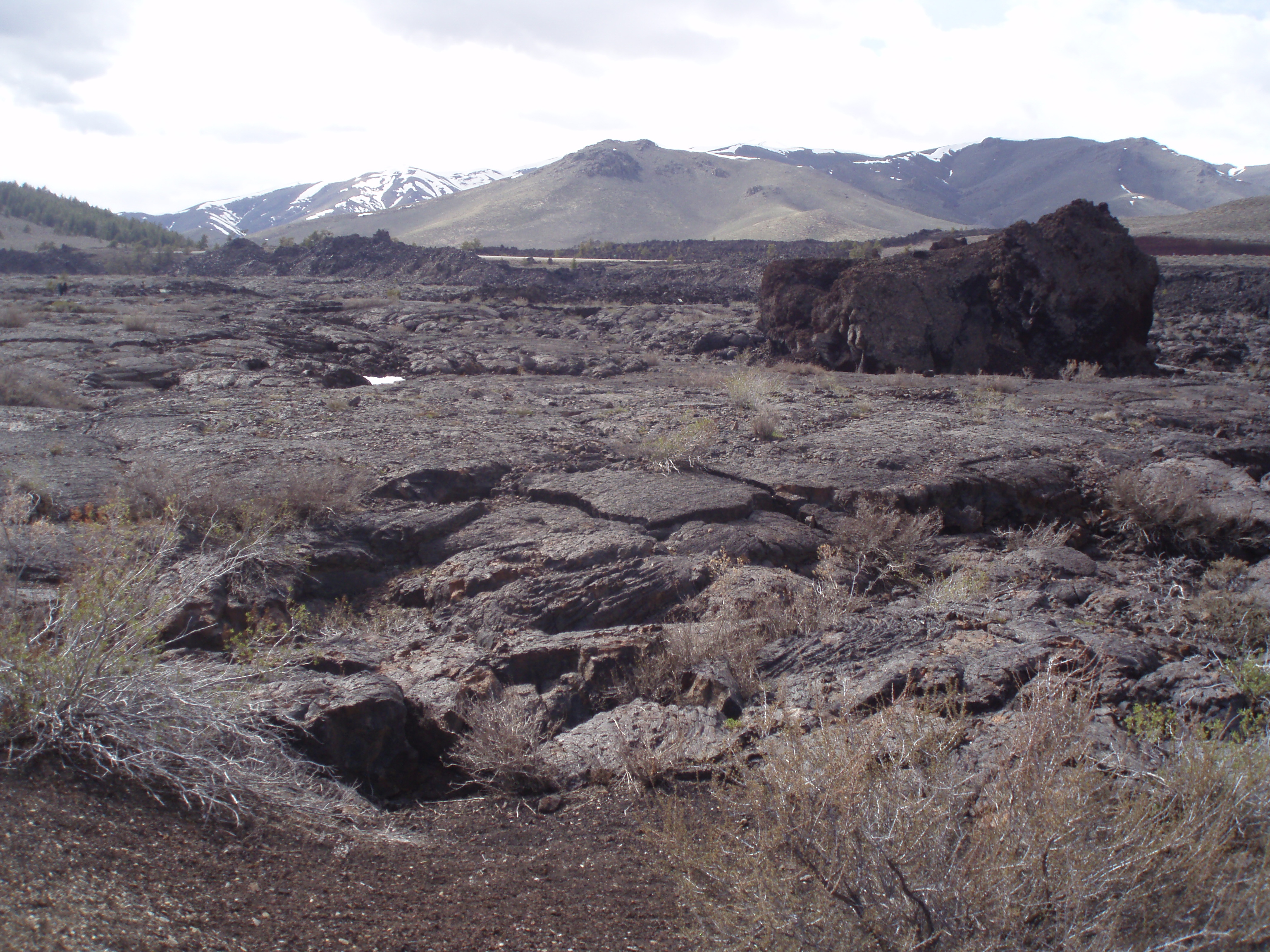 lavavelden | Craters of the Moon National Monument
