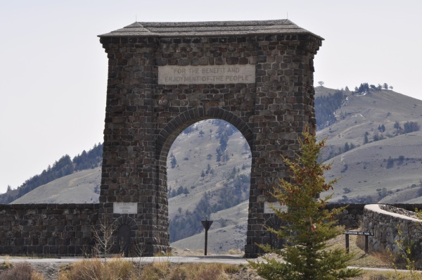 Rooseveld Arch | Yellowstone National Park