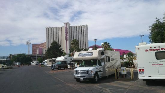 aansluiting Vegas