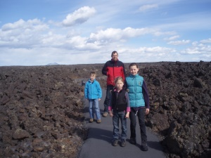 wandelmogelijkheden in het park | Craters of the Moon National Monument