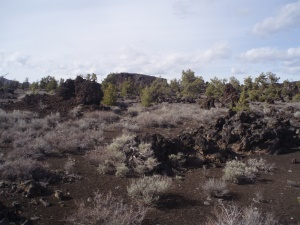 uitzicht op Craters of the Moon N.M. | Craters of the Moon National Monument