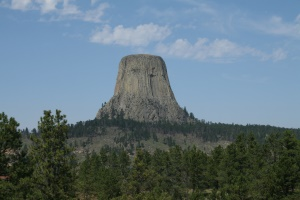uitzicht op Devils Tower | Devils Tower National Monument