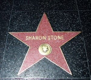 Sharon Stone op de Walk of Fame | Hollywood