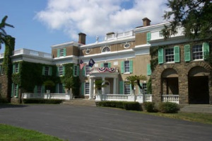 Home of Franklin D Roosevelt National Historic Site in Hyde Park, NY | Hudson Vallei - Catskills