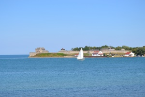 Uitzicht op Fort Niagara aan de Amerikaanse kant | Niagara-on-the-Lake
