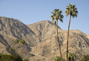 Palm Springs is geheel omgeven door bergen | Palm Springs